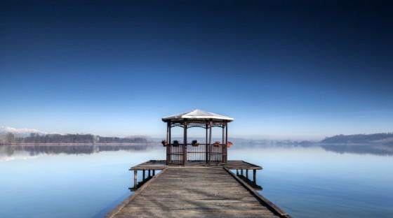 appuntamento naturalistico con iltramonto sul lago di Candia (© michele picardo - shutterstock.com)