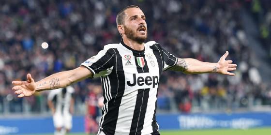 Il difensore della Juve Bonucci