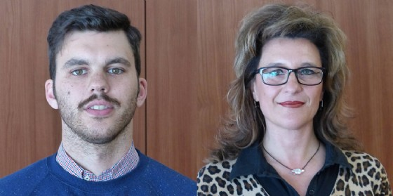 Due nuovi vertici dell'Associazione: Michela Nobile e Andrea Kogoj. (© Confcommercio Gorizia)
