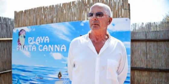 Il gestore della spiaggia fascista di Chioggia Gianni Scarpa