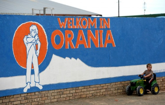 Orania, a whites-only enclave in South Africa, was set up in the dying years of apartheid and is protected by the constition.