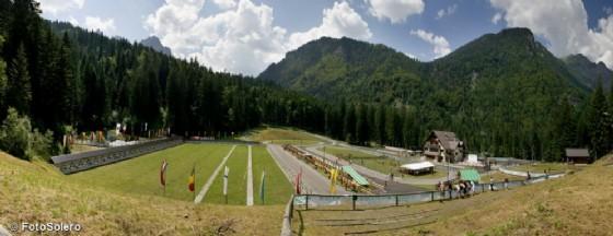 Maigourov e Di Centa inaugurano la Carnia Arena per il biathlon (© Solero)