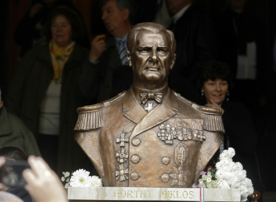 Hungarian Prime Minister Viktor Orban has denied accusations he is trying to rehabilitate wartime leader Miklos Horthy, the autocrat who led the country into World War II as an ally of Hitler