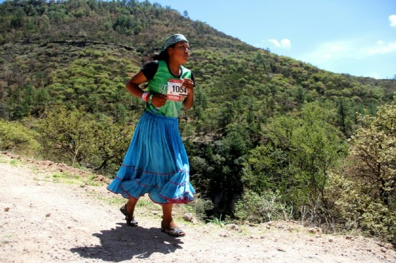 This year's Canyons Ultramarathon brought together more than 1,000 competitors from around the world to take on the steep slopes of the Sinforosa range of the Tarahumara mountains in Mexico's Sierra Madre Occidental