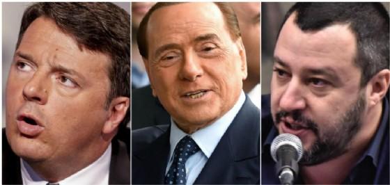 Silvio Berlusconi chiude con Matteo Renzi e sceglie Matteo Salvini.