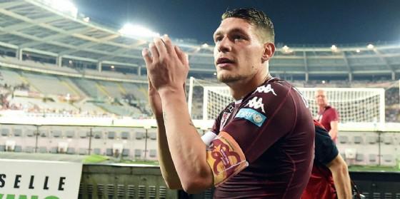 Il centravanti del Torino Andrea Belotti