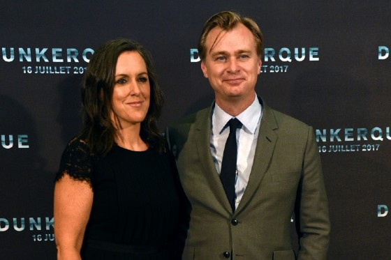 British-American film director Christopher Nolan, seen here with his film producer wife Emma Thomas, seeks the 'ecstatic truth' in the new film 'Dunkirk'.