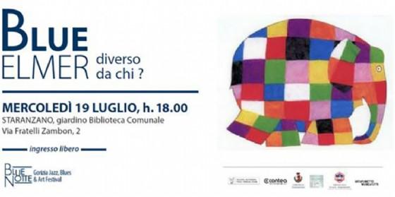 """""""Blue Elmer. Diverso da chi?"""" a Staranzano un evento per bambini dai 4 agli 8 anni (© BlueNotte Gorizia Festival)"""