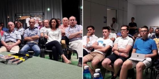 I presenti all'open day di lunedì scorso (© Lega Nord Biella)