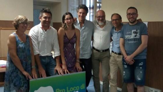 Il nuovo direttivo, Clarizio è il secondo da sinistra (© Pro loco Biella)