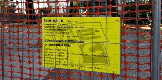 Cantieri aperti in diverse scuole comunali