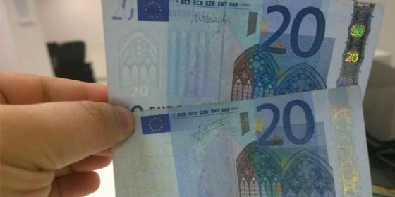Banconote false in circolazione a Biella
