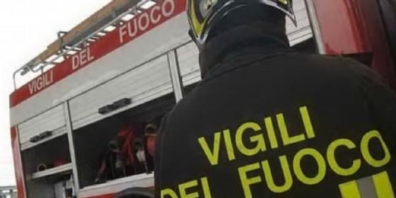 Incendio nella notte a Masserano