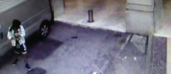Un giovane di 22 anni è stato ripreso da una videocamera di sorveglianza mentre rubava un portafoglio