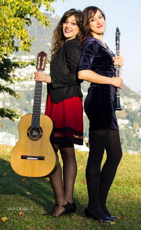 Le due ragazze si esibiranno domenica 30 luglio (scatto di Ana Traba)
