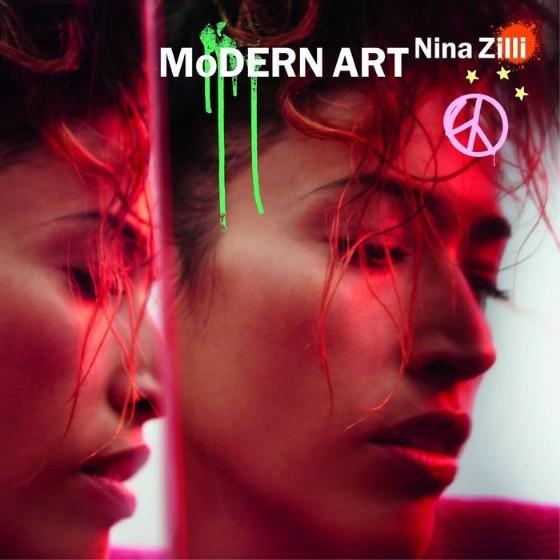 La copertina del nuovo album di Nina Zilli, «Modern Art»