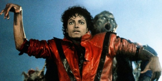 Un fotogramma del video di «Thriller» di Michael Jackson