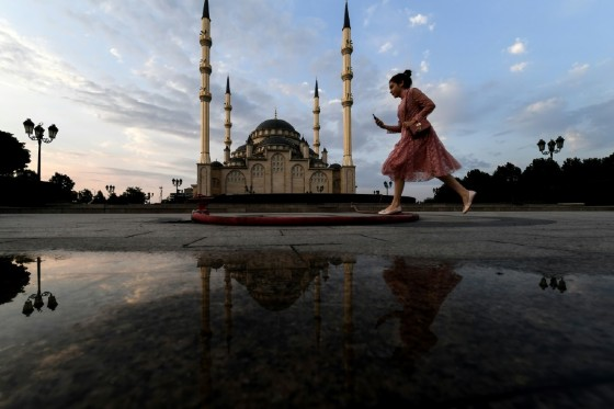"""The emphasis on Islam has alienated some residents, such as Yelena, a Russian Orthodox member, who said she feels """"like a second-class citizen"""""""