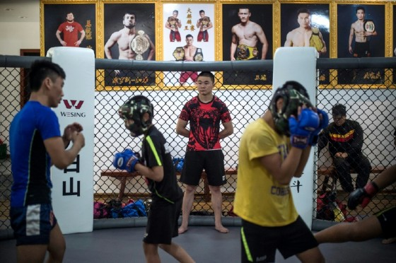 The kids, from the Tibetan plateau, are adopted into the Enbo Fight Club in Chengdu, Sichuan province