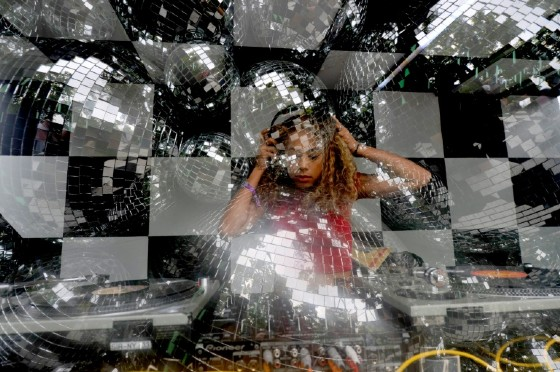 Jayda G performs onstage during the three-day 2017 Panorama Music Festival on New York's Randall's Island on July 29, 2017