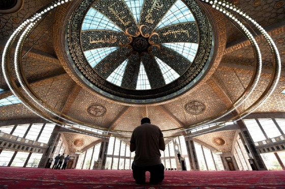 Grozny has transformed from an empty shell to a glittering showcase of illuminated skyscrapers and mammoth mosques