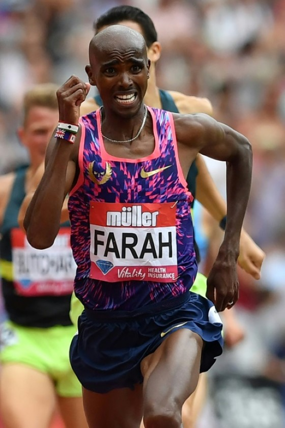 Britain's distance running legend Mo Farah is on an unbroken streak of nine global final wins (the 5000m in 2011, and the 5/10km double in 2012, 2013, 2015 and 2016)