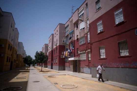 Los Pajaritos is Spain's poorest neighbourhood and has around 21,000 residents
