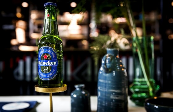 The company's promising new brand, alcohol-free 'Heineken 0.0' was launched in May 2017 in 16 markets