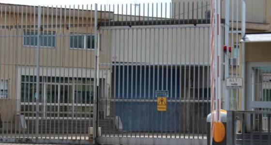 L'ingresso del carcere di Biella