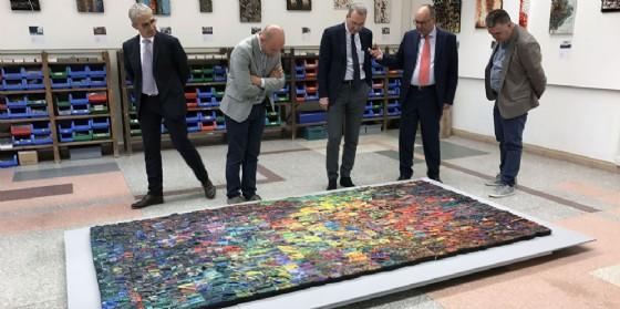 Cerimonia di inaugurazione della mostra Mosaico&Mosaici 2017