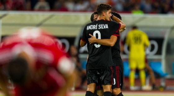 Milan-Craiova, probabile debutto dal 1' per André Silva