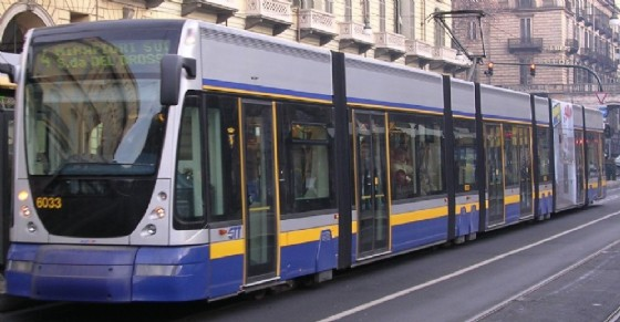 La linea tranviaria numero 4 (© Diario di Torino)