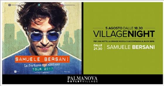 Village Night all'Outlet di Palmanova, vinci 1 dei 10 biglietti messi in palio per la serata