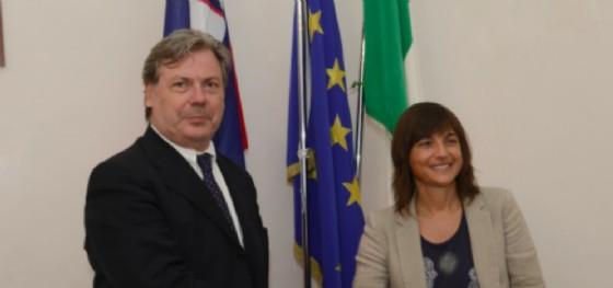 Vojko Volk e Debora Serracchiani (© Regione Friuli Venezia Giulia)