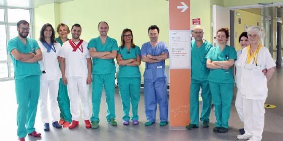 L'équipe di Chirurgia Vascolare dell'Ospedale di Biella