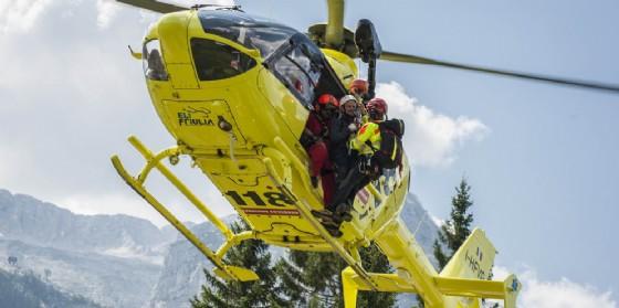 Recuperato parapedista caduto sulle alture del maniaghese (© Corpo Nazionale Soccorso Alpino e Speleologico)
