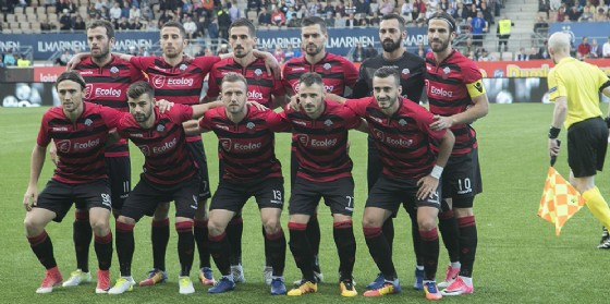 Una recente formazione dello Shkendija, prossima avversaria del Milan in EL