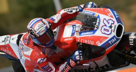 Andrea Dovizioso leader delle prove libere del Gran Premio della Repubblica Ceca