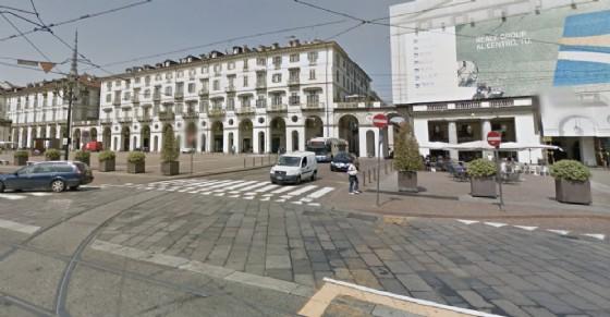 Piazza Vittorio Veneto, angolo via Vanchiglia (© Google Street View)