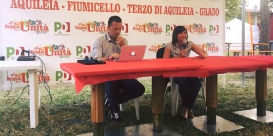 """Serracchiani sul suo futuro: """"Nelle prossime settimane utti i nodi verranno sciolti"""" (© Pd Aquileia)"""