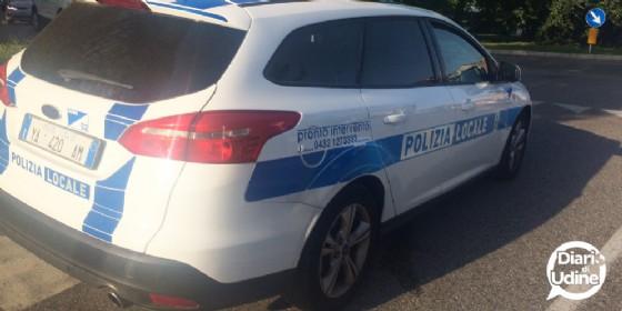 Pedone investito in via Diaz: l'appello della Polizia locale (© Diario di Udine)