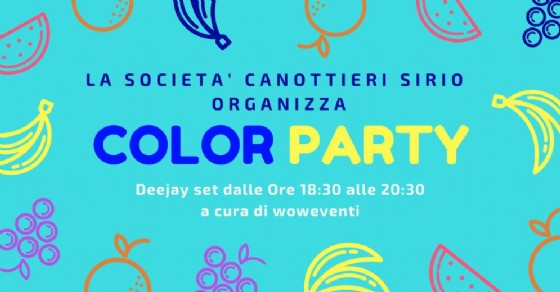 Color Party di Ferragosto al Lago Sirio
