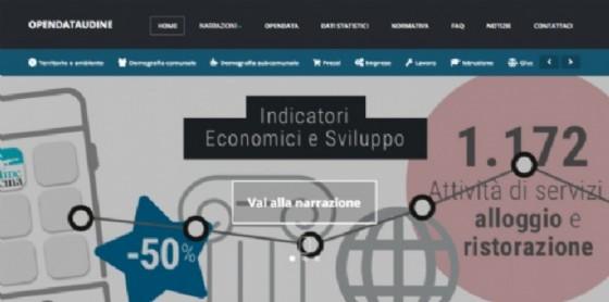 Open data: oltre 700 utenti in 7 mesi per il nuovo portale del Comune di Udine (© Comune di Udine)