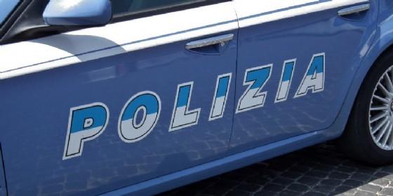 La macchina della polizia