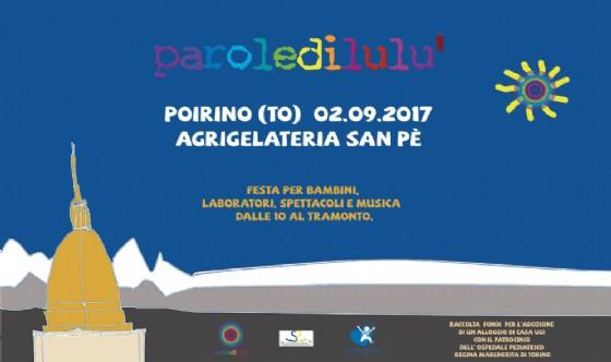 Torino sarà tappa di «Parole di Lulù 2017»