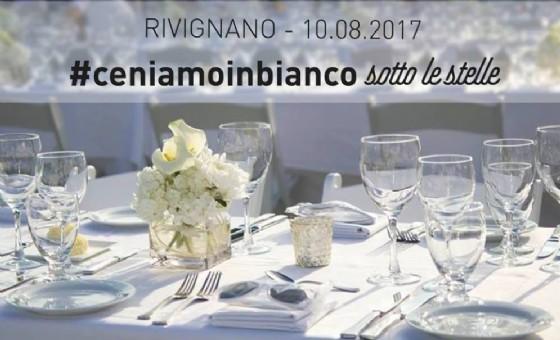 A Rivignano «#ceniamoinbianco sotto le stelle» (© Pro Loco Rivignano)