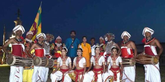 Danze e musiche dal mondo a Villa Manin, il gruppo dello Sri Lanka