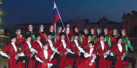 Danze e musiche dal mondo a Villa Manin, il gruppo della Russia