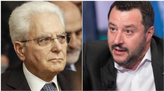 Matteo Salvini risponde a Sergio Mattarella dopo il suo discorso sulla strage di Marcinelle.