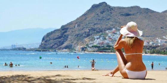 La spiaggia di Tenerife
